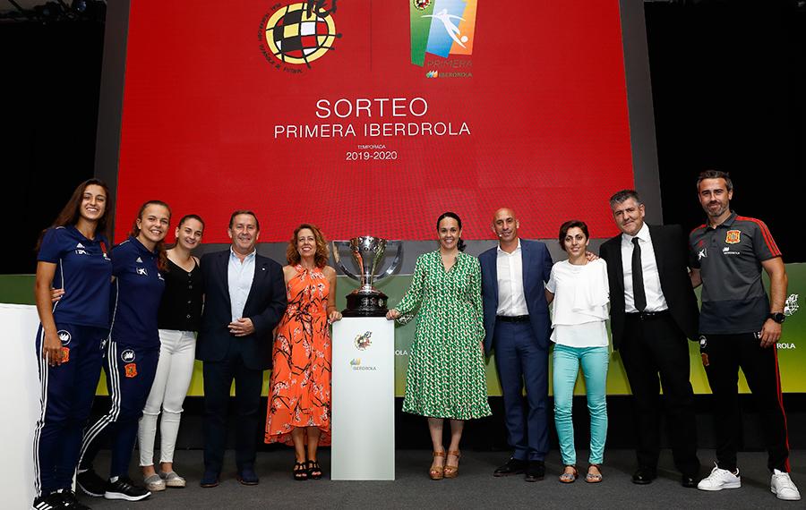 1 ago - Presentacion Primera Iberdrola Liga femenina