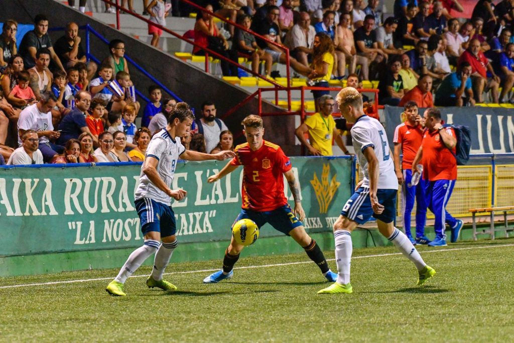 8 agosto - Xavi Estacio, con España en el COTIF