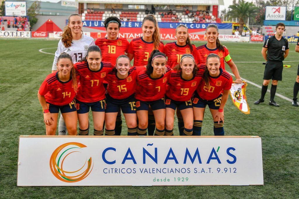 7 agosto - España Femenina sub 19 en el COTIF
