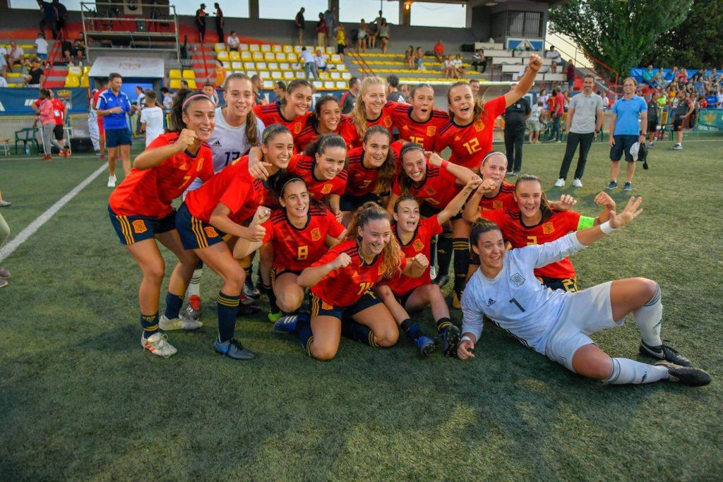 8 agosto - España sub 19 , campeona del COTIF 2019