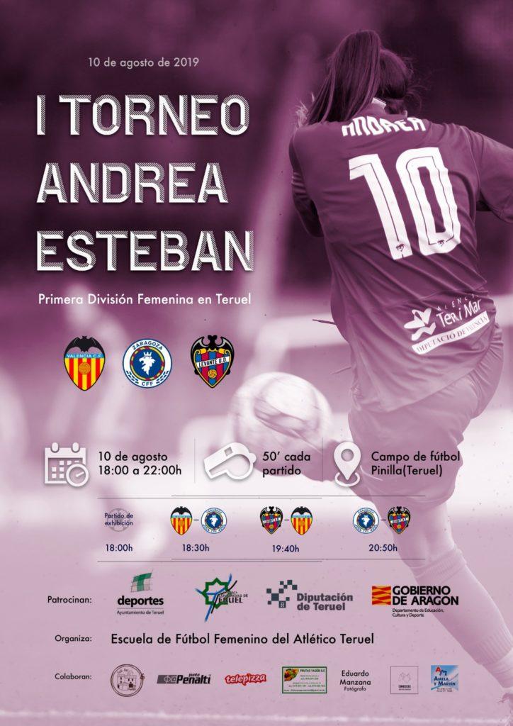 2 agosto - Torneo Andrea Esteban cartel