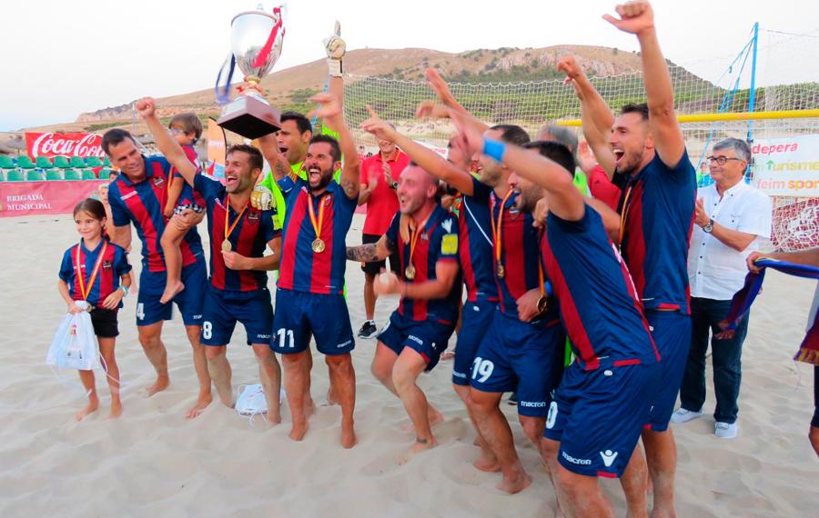 Levante UD Fútbol Playa, campeón de la Supercopa