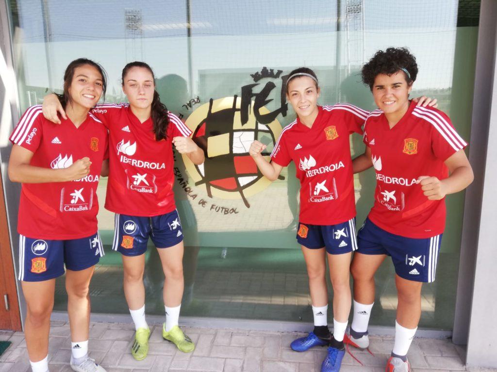 1 ago - Cuatro valencianas con España sub 19 COTIF