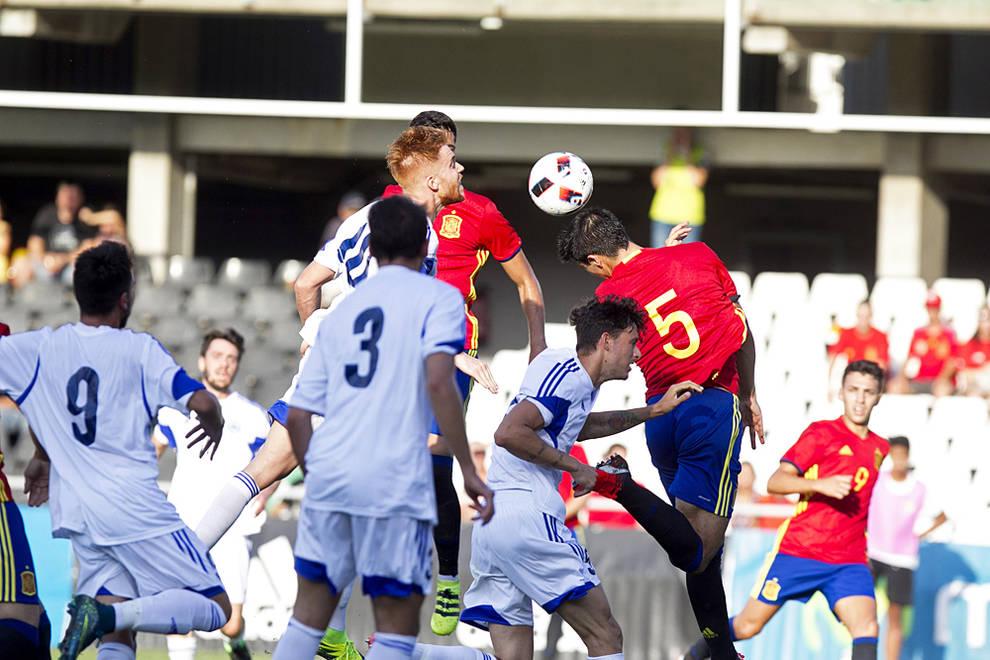 2016 - España sub 21 en Castalia contra San Marino (6-0)