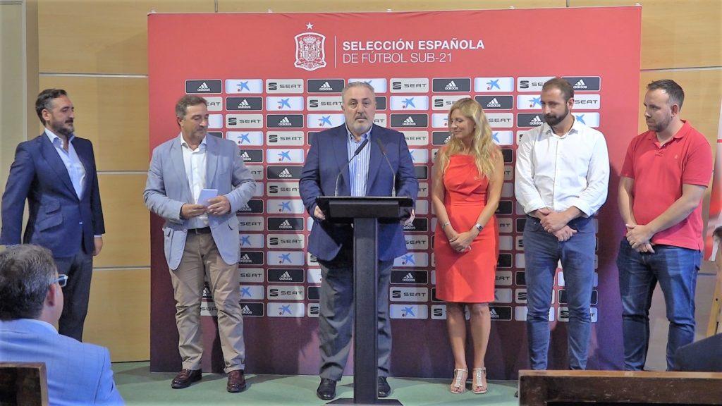 4 septiembre - Presentación partido sub 21 España-Montenegro Sub 21