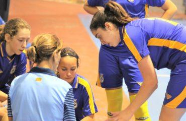 Entrene futsal Valenta sub16 en Ibi