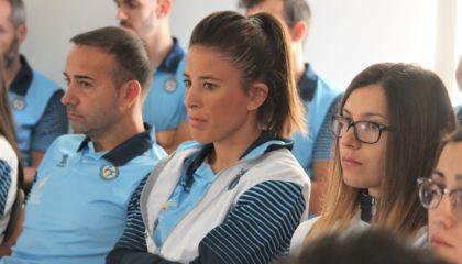 5 oct- Triguero, Ana Gómez y Andrea Esteban en charla seleccionadores