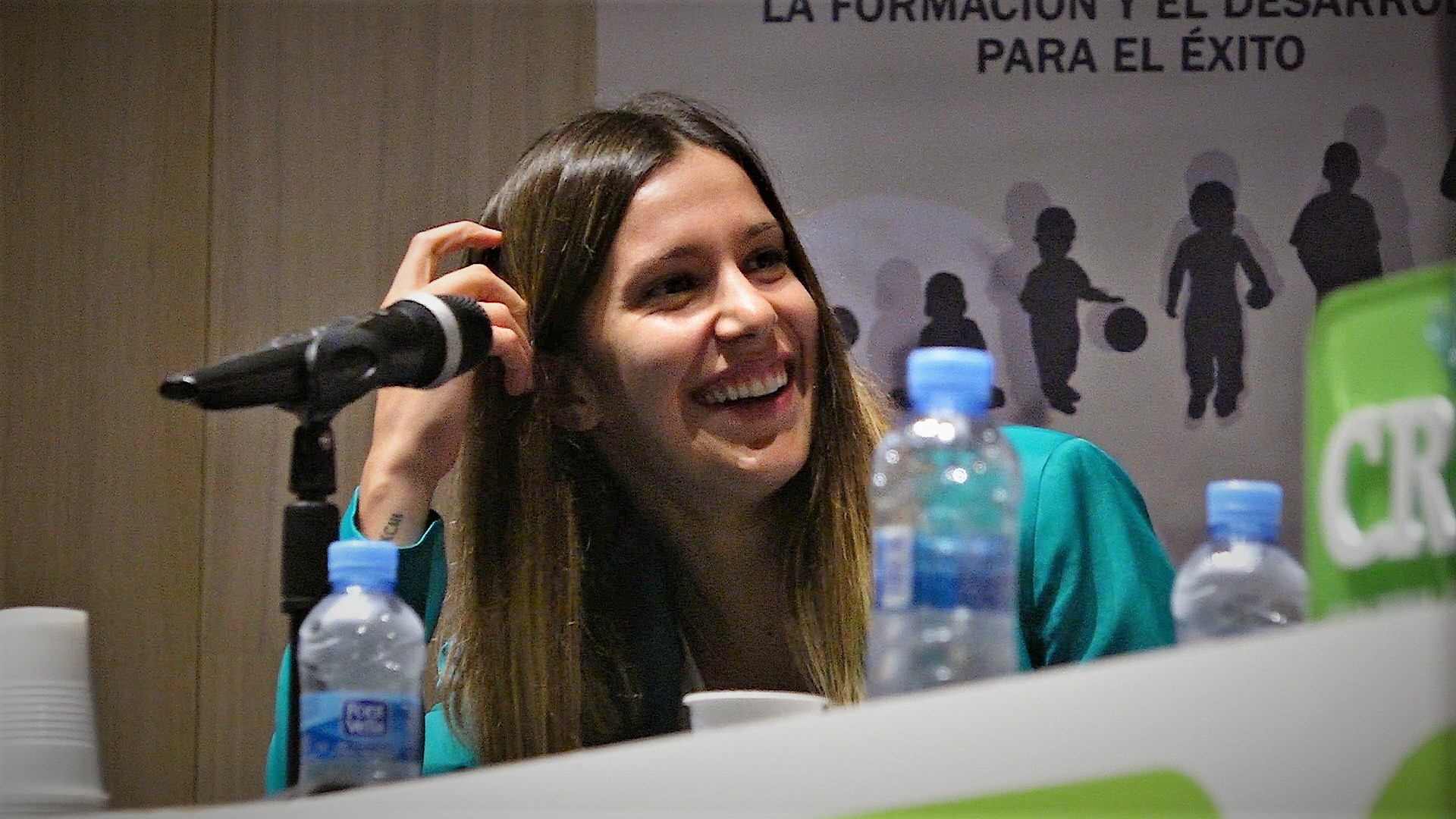 7 oct- Andrea Esteban en congreso solidario Vega Baja