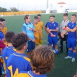 Javier Lafora, seleccionador sub16