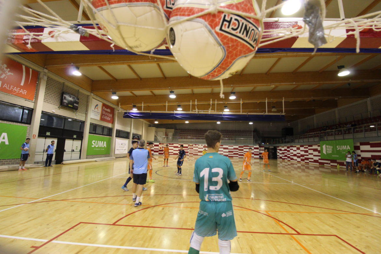 Entrene Selecció sub19 futsal en Alfafar