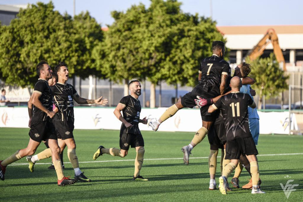 Intercity celebra victoria en Copa Rey