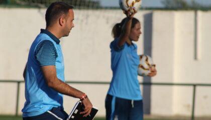 Santi Triguero y Andrea Esteban