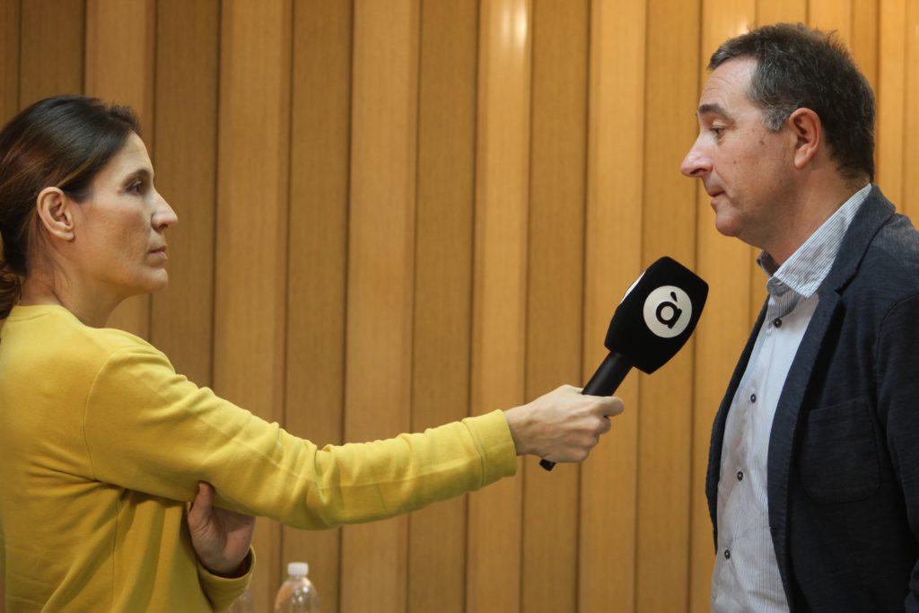 2dic- Balance Gomar año presidencia con prensa