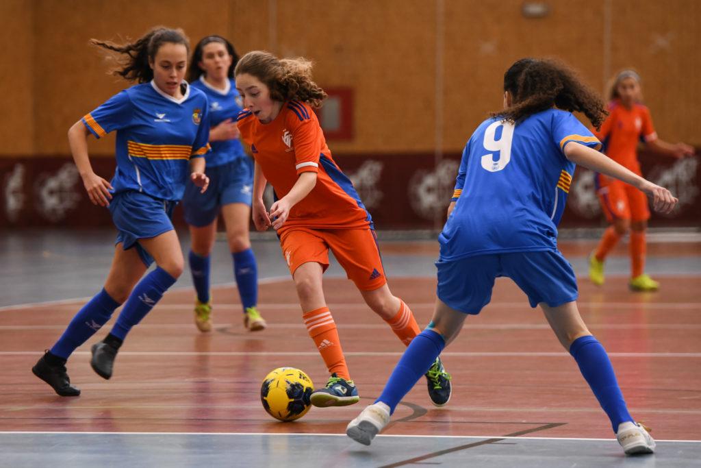 29 dic- Selecció Valenta sub16 futsal Almoradí contra Aragón
