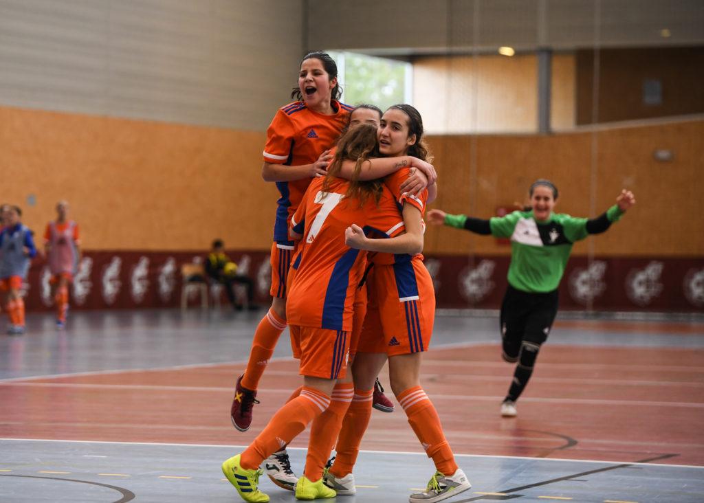 29 dic- Lucia Garibo gol Selecció futsal Valenta sub16