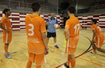 Entrene Selecció sub19 futsal Alfafar