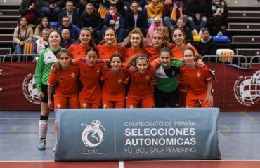 29 dic- Selecció Valenta sub16 futsal contra Aragon