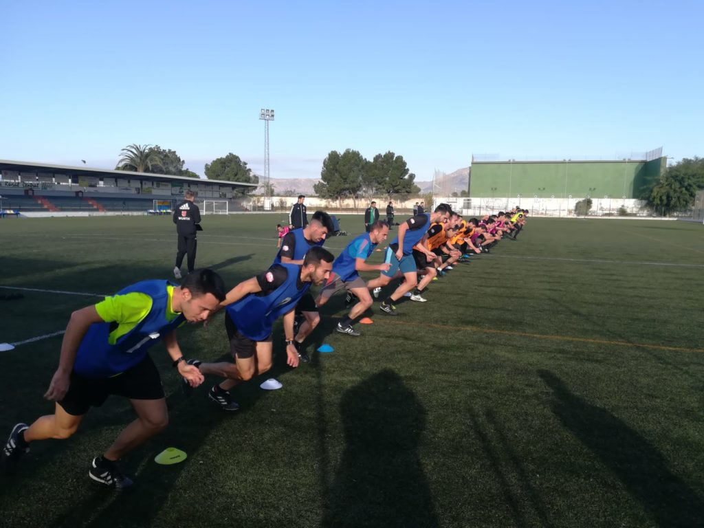 6 dic- Pruebas físicas árbitros Albatera