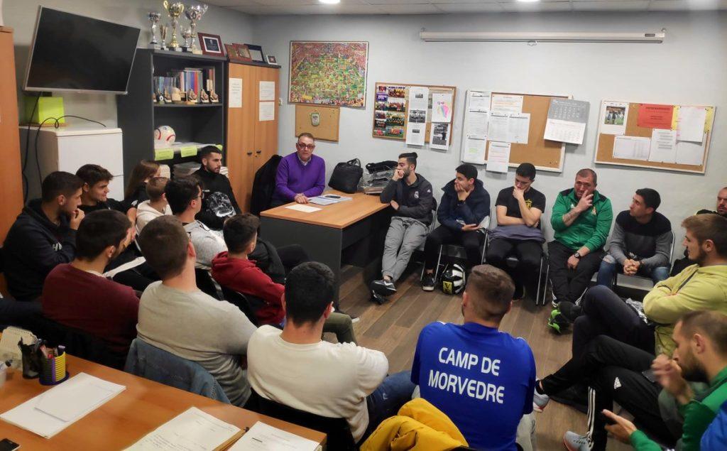 3 DIC- Reunión árbitros Camp Morvedre Enguix