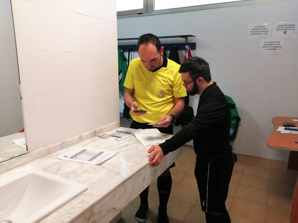 Dani Alcaraz, árbitro síndrome Down