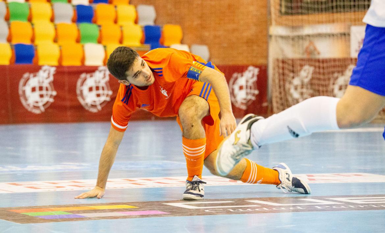 Nacho Castejón, capitán Selecció futsal