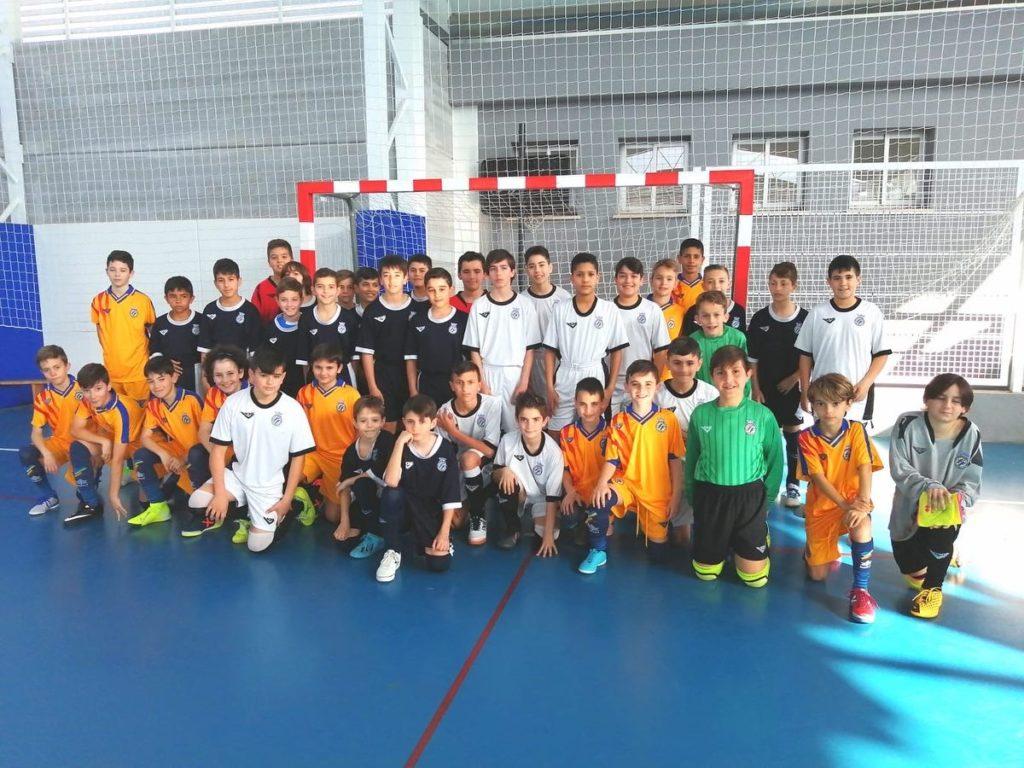9 feb. Entrenamiento Selecció sub12 futsal en Calpe
