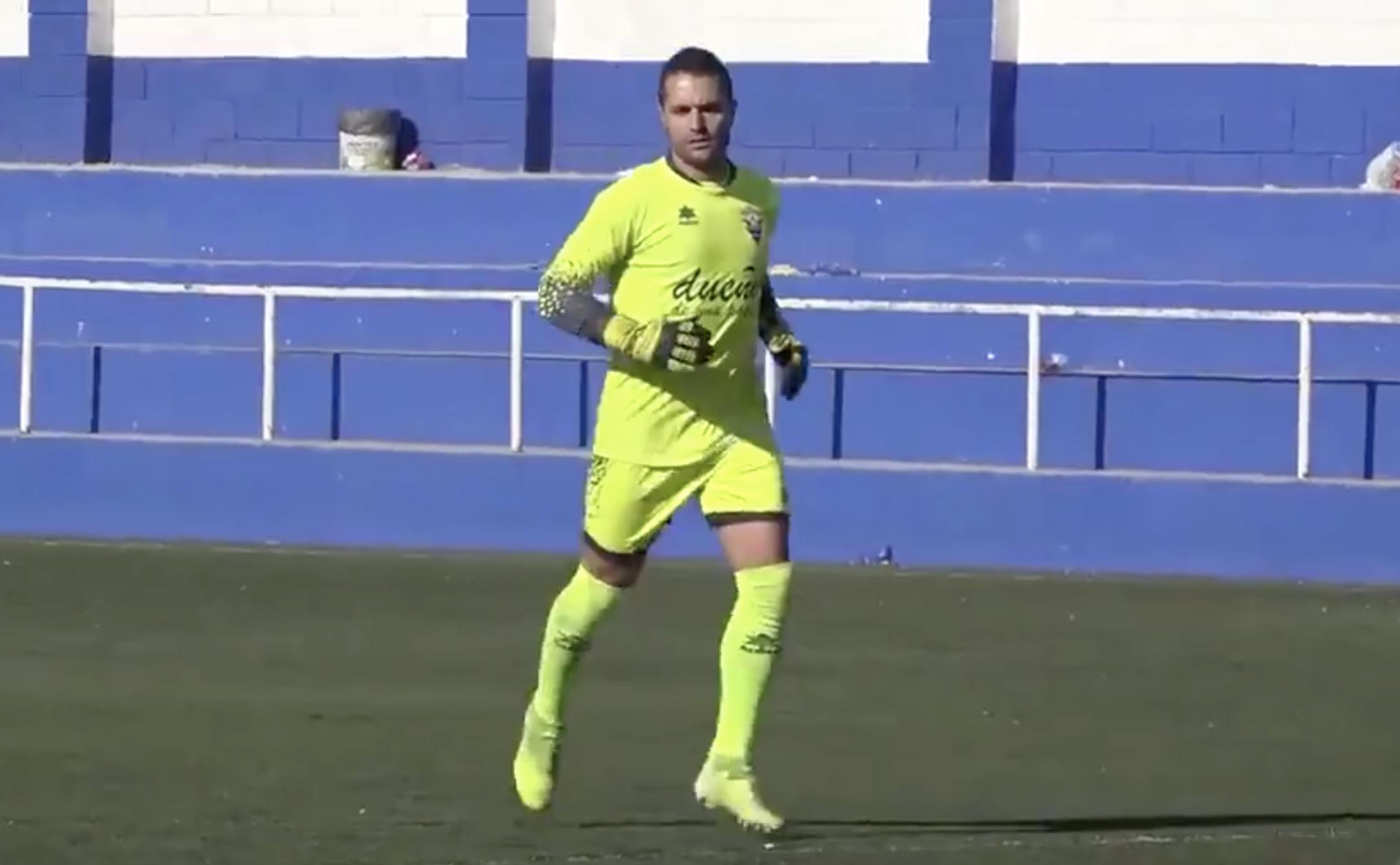 Alfredo Pareja portero 300 partidos