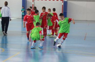 9 feb- Entrenamiento futsal Seleccion sub10 Caple