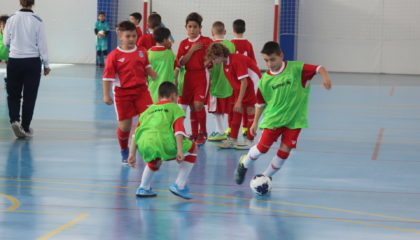 9 feb- Entrenamiento futsal Seleccion sub10 Caple