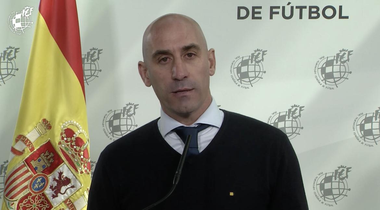 25 mar- Luis Rubiales en conferencia de prensa