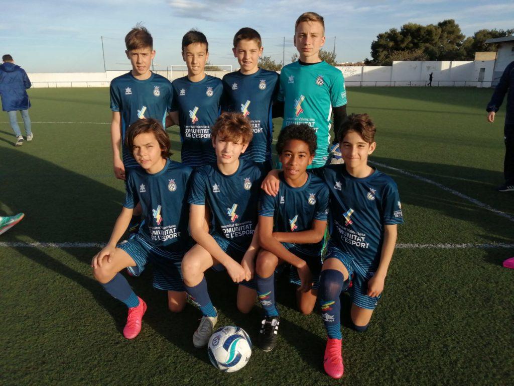 9 mar- Amistoso Selecció Valenciana sub12 Patacona CF