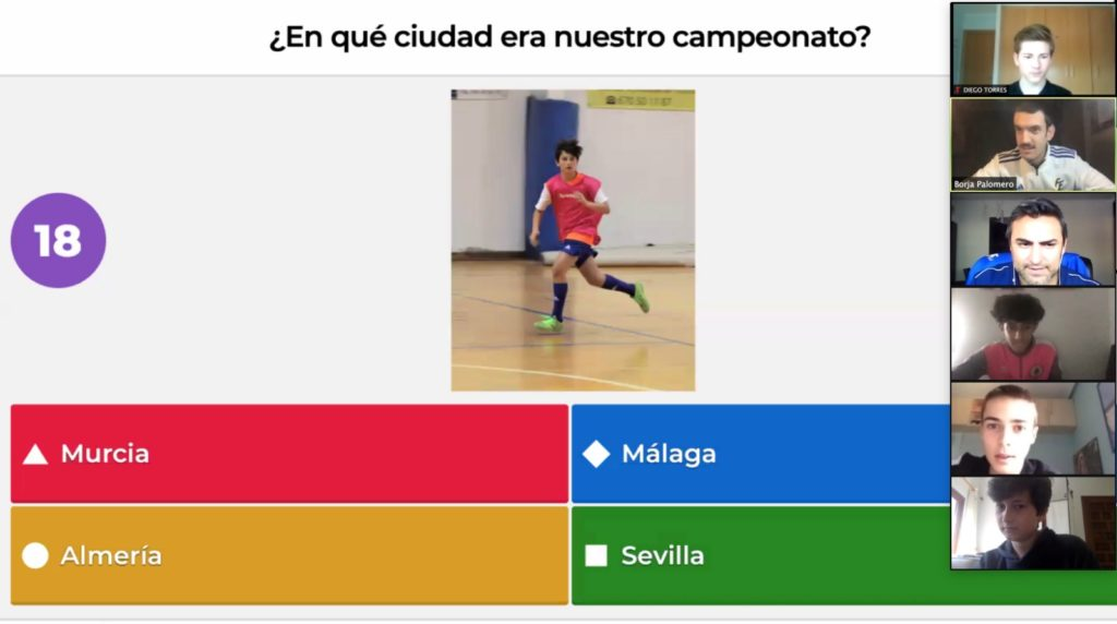 24 abr- Selecció sub14 futsal concurso Kahoot