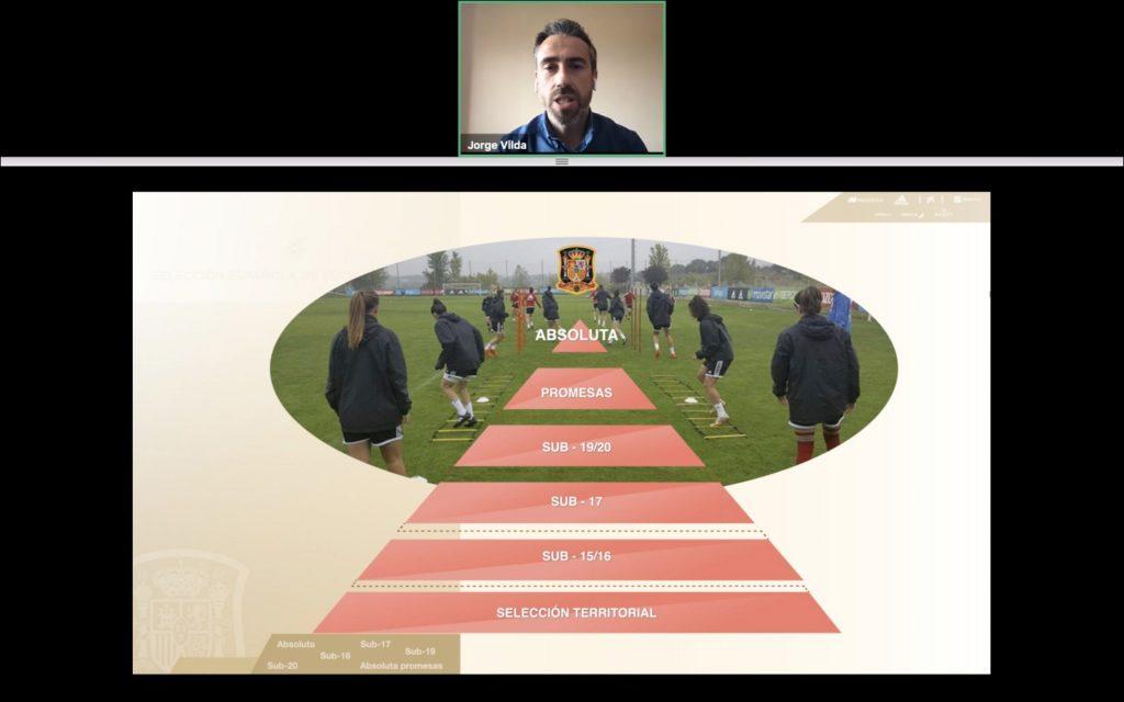 21 abr- Jorge Vila en reunión técnica online RFEF