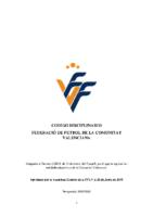 Código Disciplinario FFCV 19-20