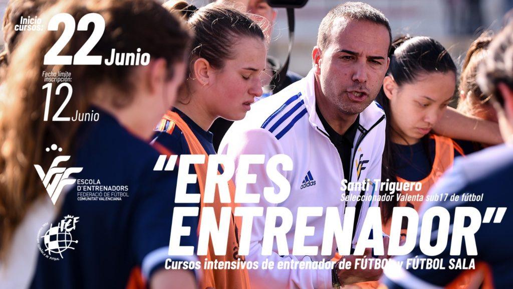 Campaña 'Eres entrenador' Santi Triguero
