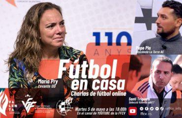Maria Pry en Fútbol en casa