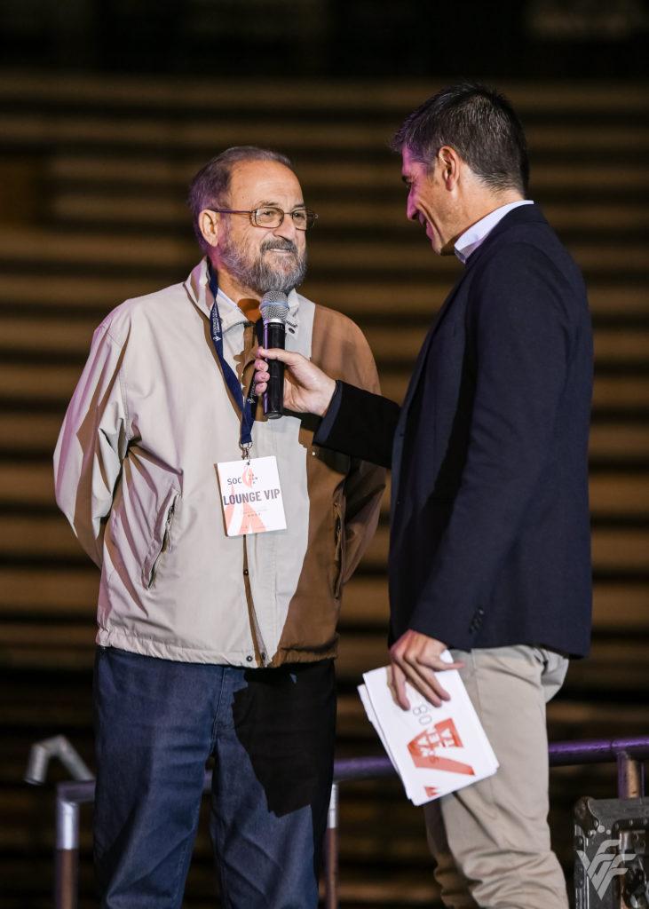 Pepe Ibañez en la Festa Soc Valenta