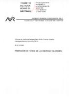 Informe auditoria y CCAA FFCV 2019