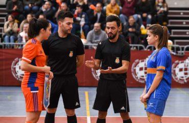 Samuel Gabaldón, árbitro futsal