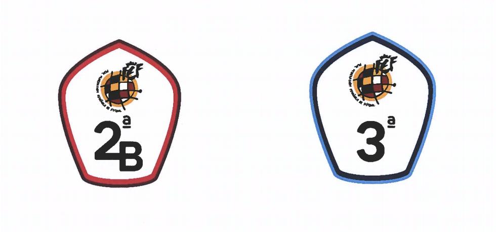 logos segunda B y Tercera 20/21