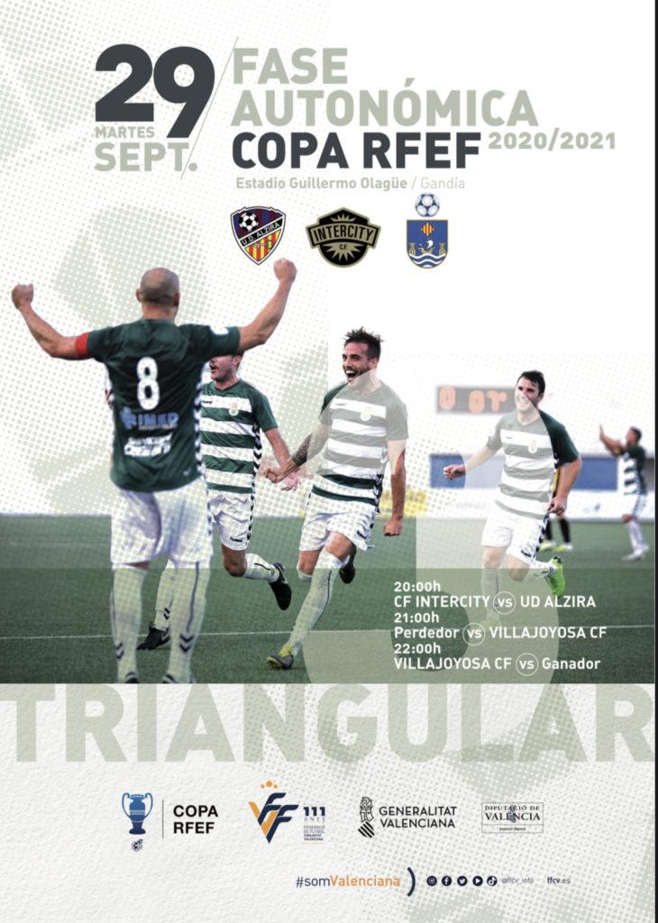 Cartel oficial Copa RFEF fase autonómica 2020