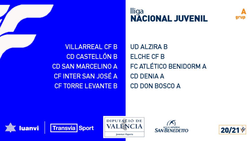 Lina Nacional Juvenil Grupo A 20/21