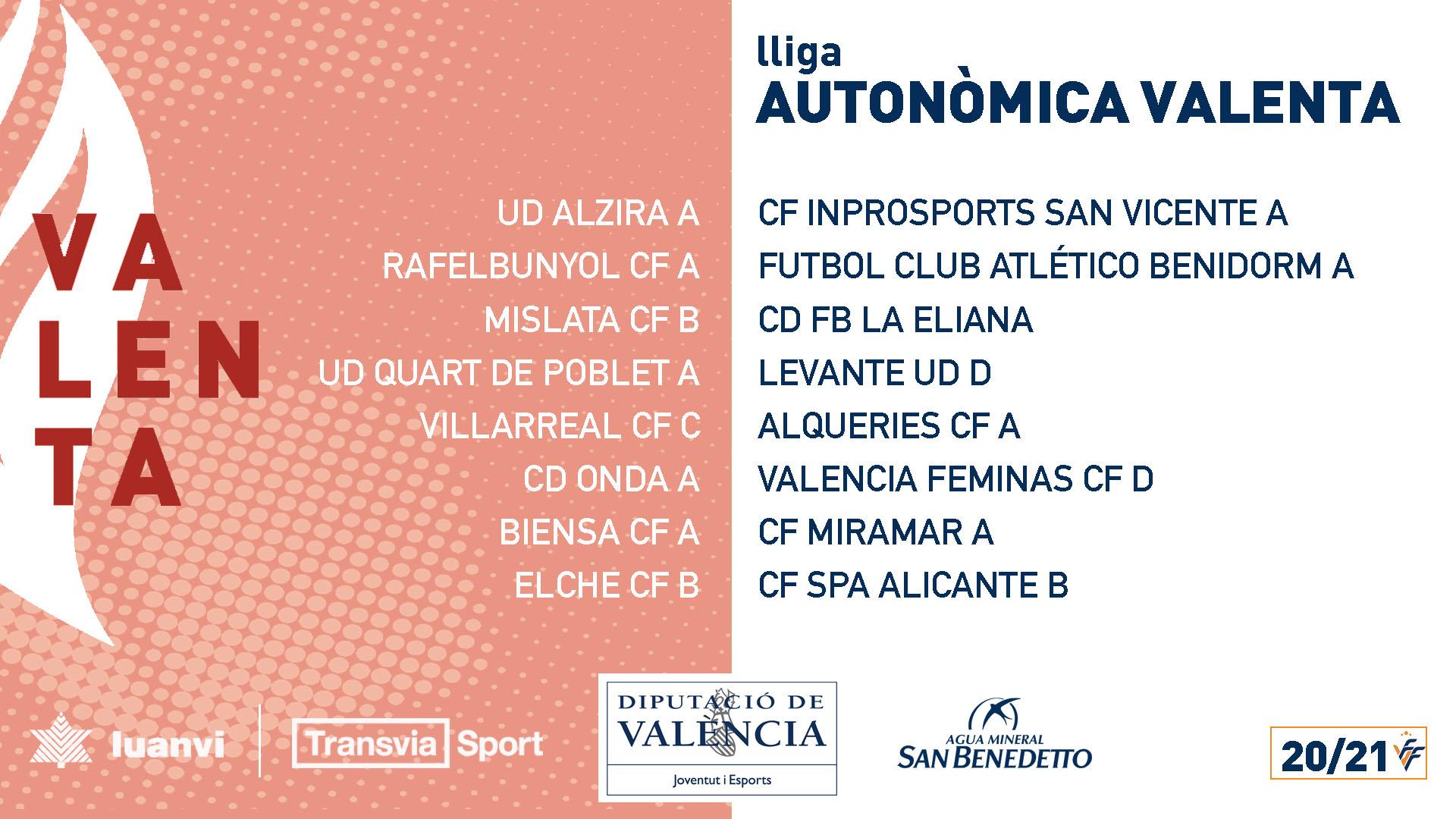 Liga Autonómica Valenta 20/21 20-21