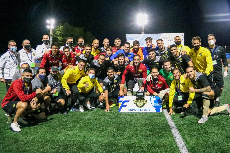 CF Intercity, campen Copa RFEF en Gandia