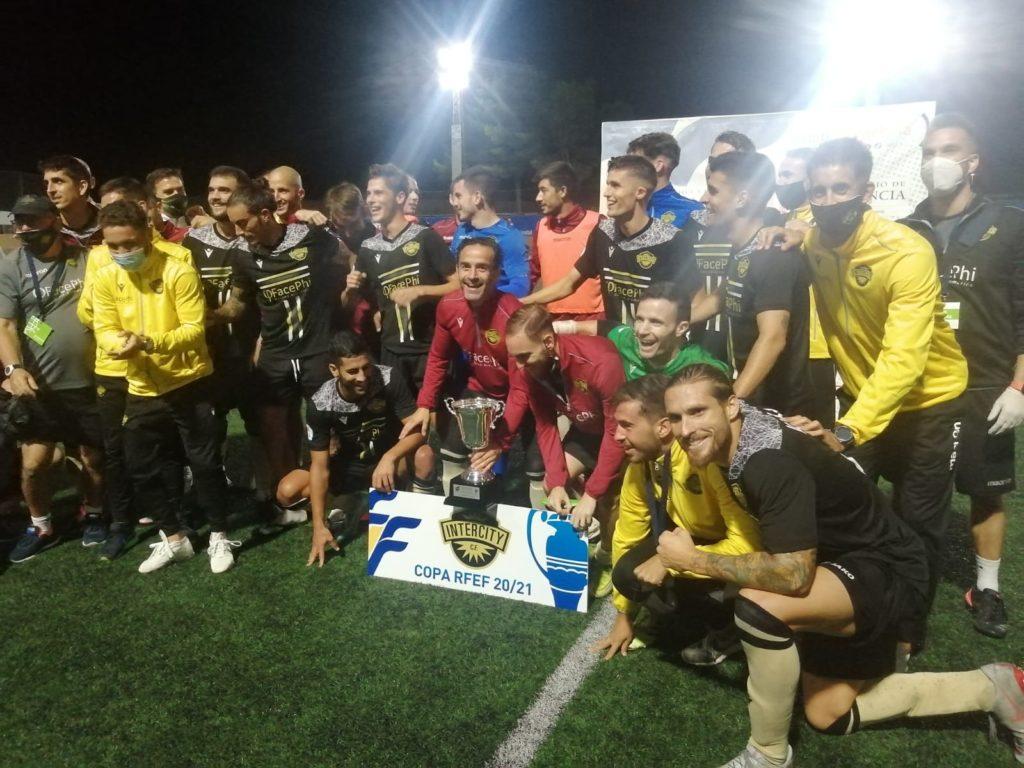 29 sep- Intercity, campeón de la Copa RFEF fase autonómica en Gandia
