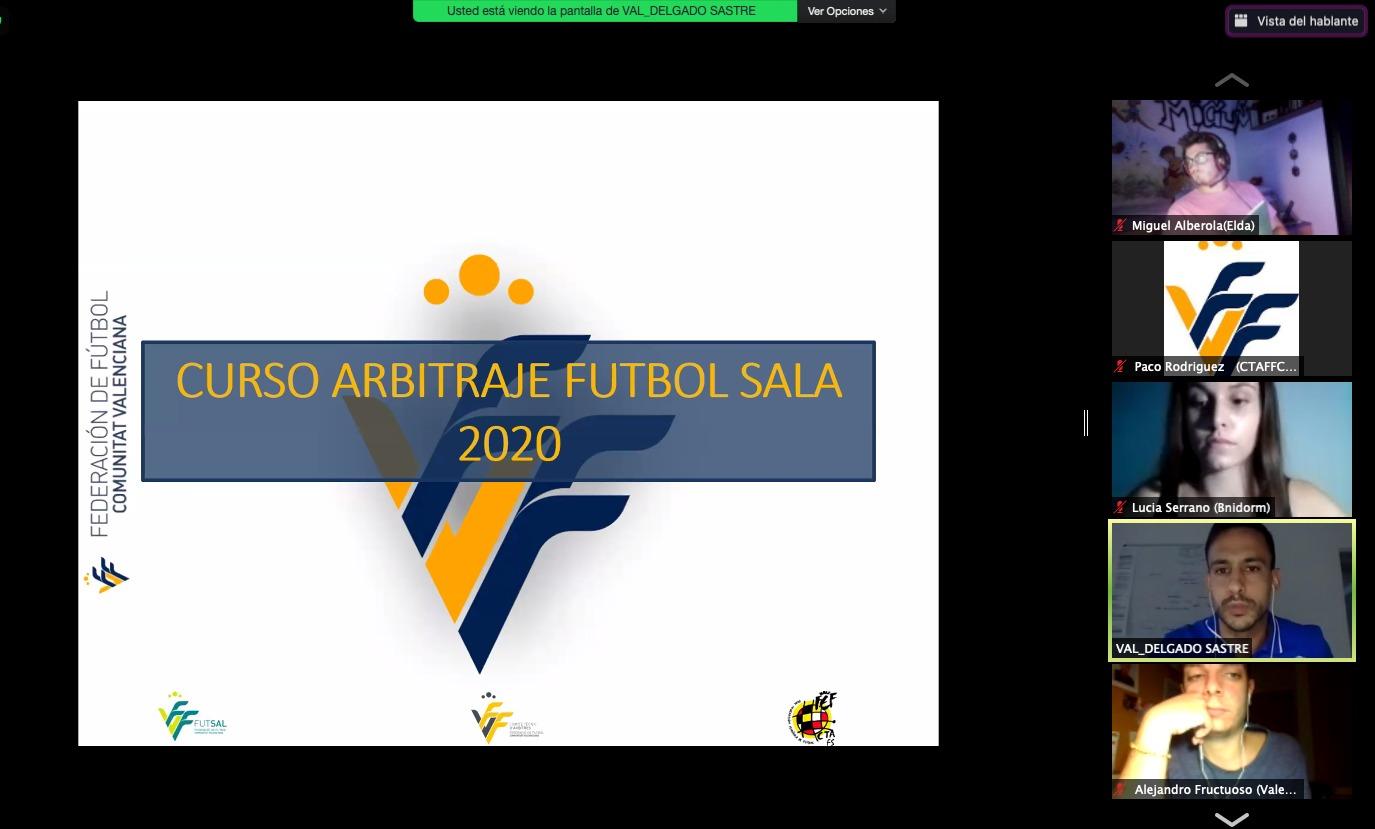 24 sep- Curso online árbitros futbol sala 2020