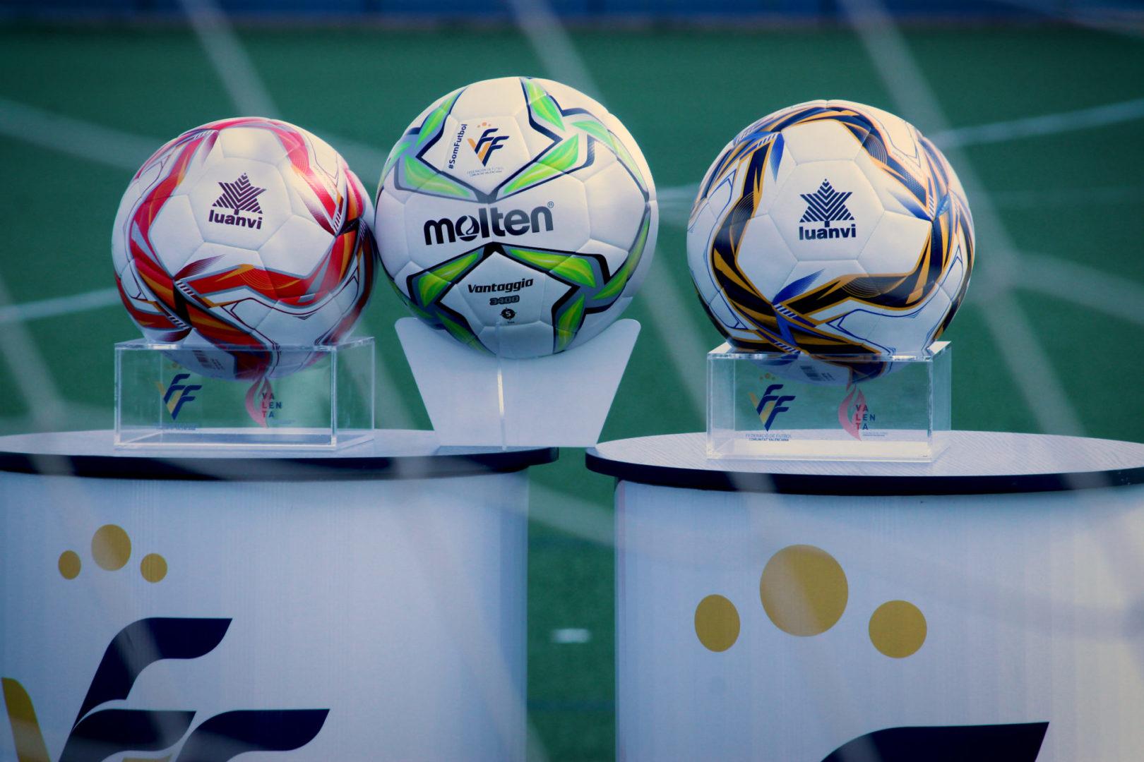 Balones oficiales temporada 2020/21 Luanvi y Molten