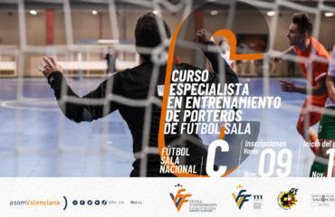 banner curso especialista entrenador porteros futsal