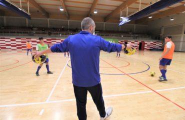 2 nov Entrene Selecció sub19 futsal Patxi Aguilar