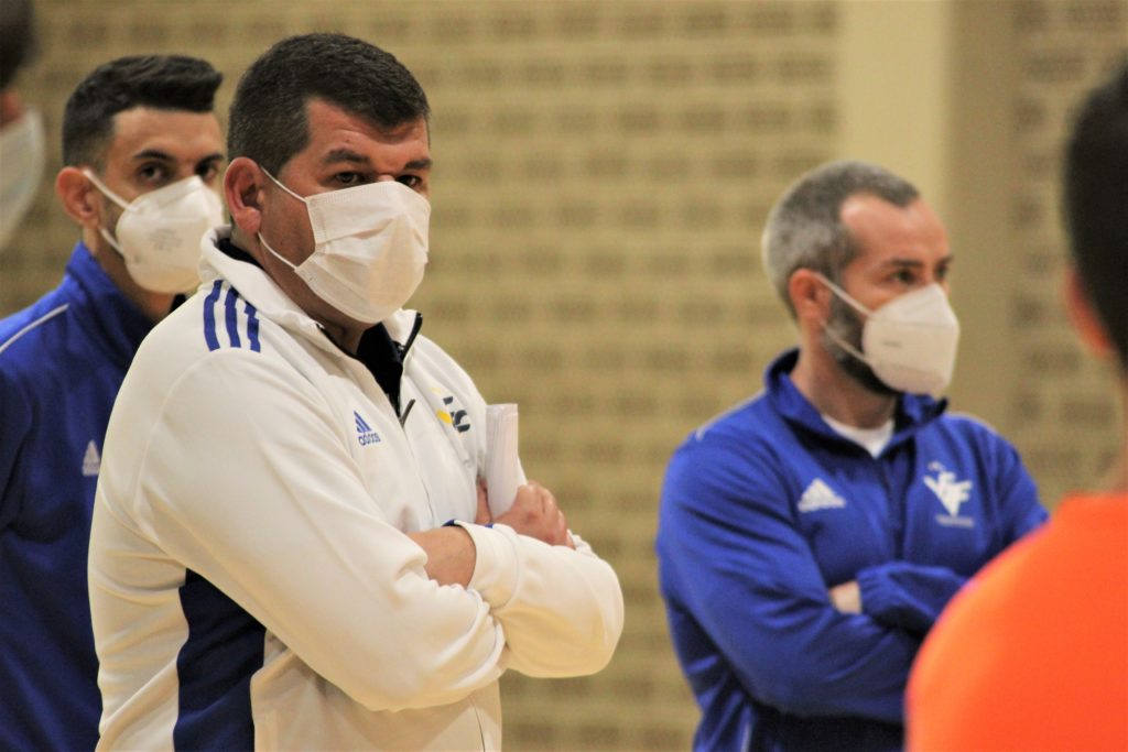 17 nov Sergio Calduch debut Selecció sub16 futsal